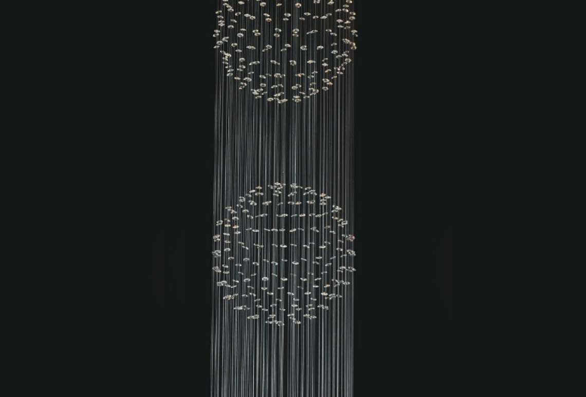 Widely Used Long Modern Chandelier In Chandelier : Chandeliers For Staircase Contemporary Foyer Beautiful (View 19 of 20)