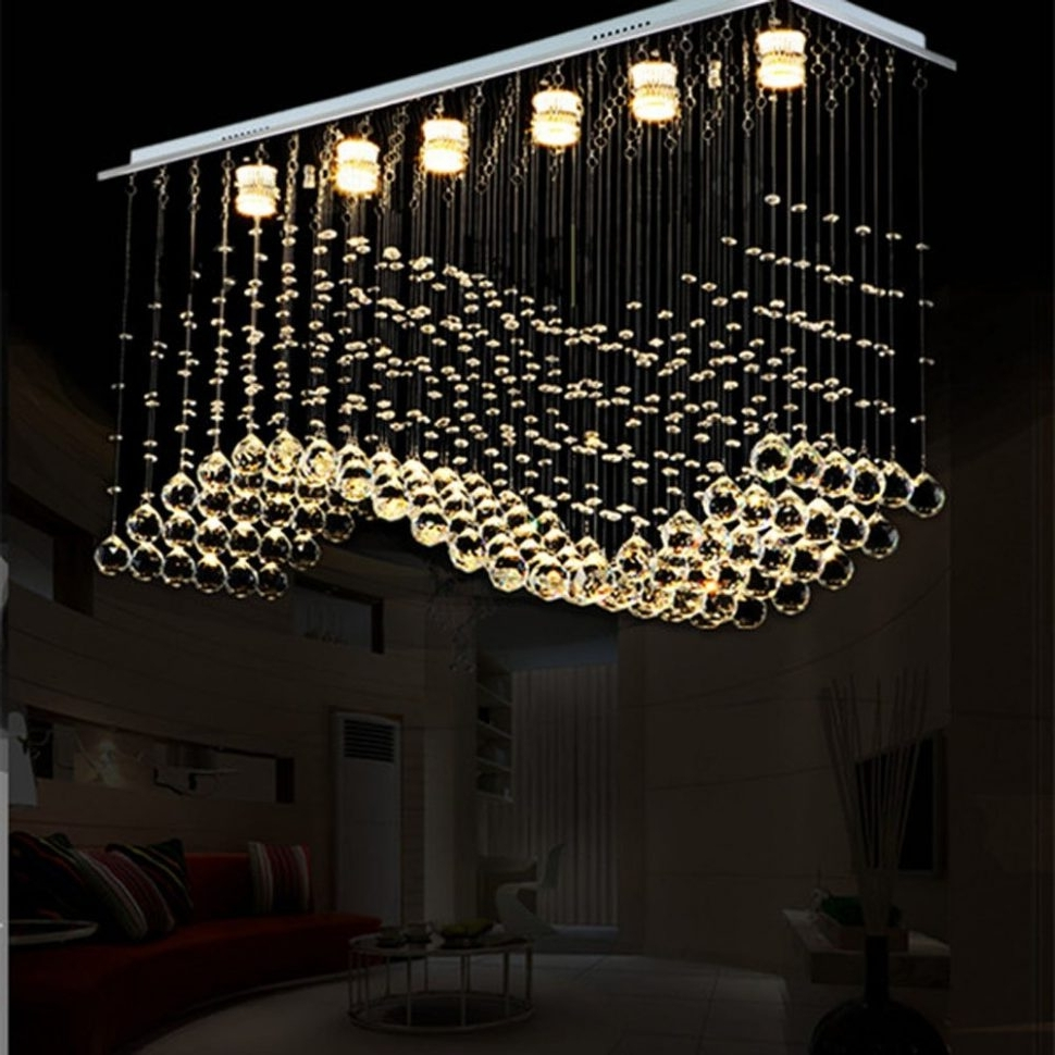 Featured Photo of Modern Chandeliers For Low Ceilings