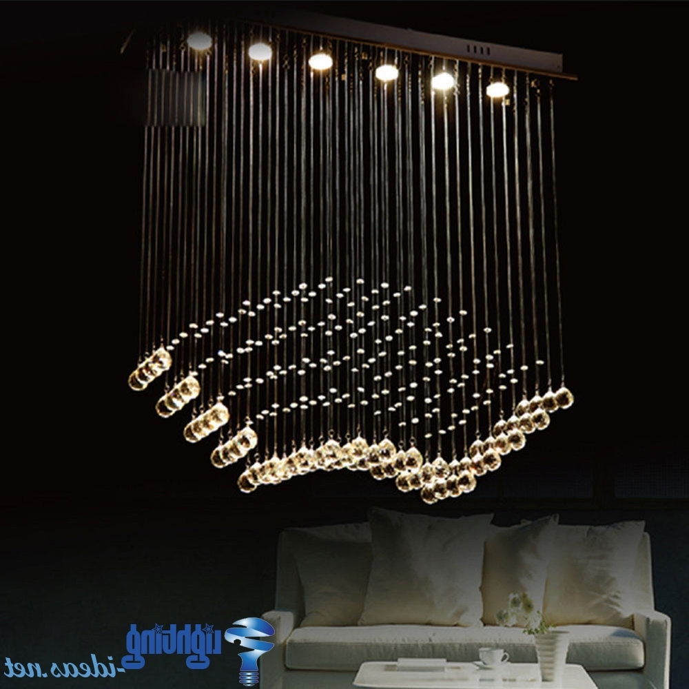 Widely Used Modern Chandeliers Within Light Fixture : Chandelier For Dining Room Modern Hanging Ceiling (View 19 of 20)