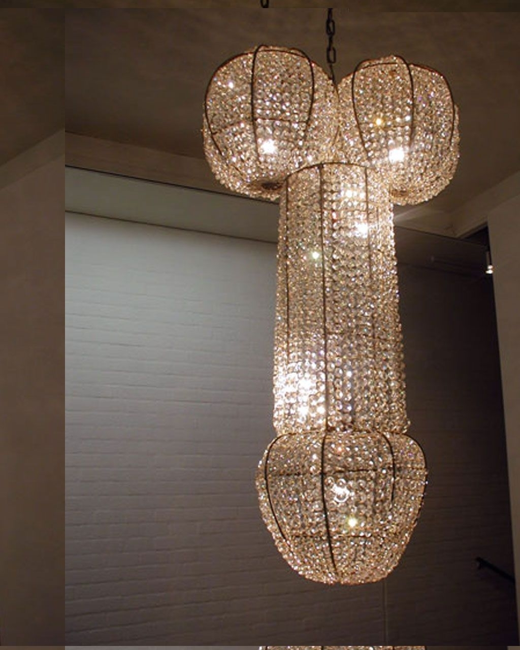 Widely Used Modern Creative Chandeliers Design – Looks More Like A Penis (View 17 of 20)