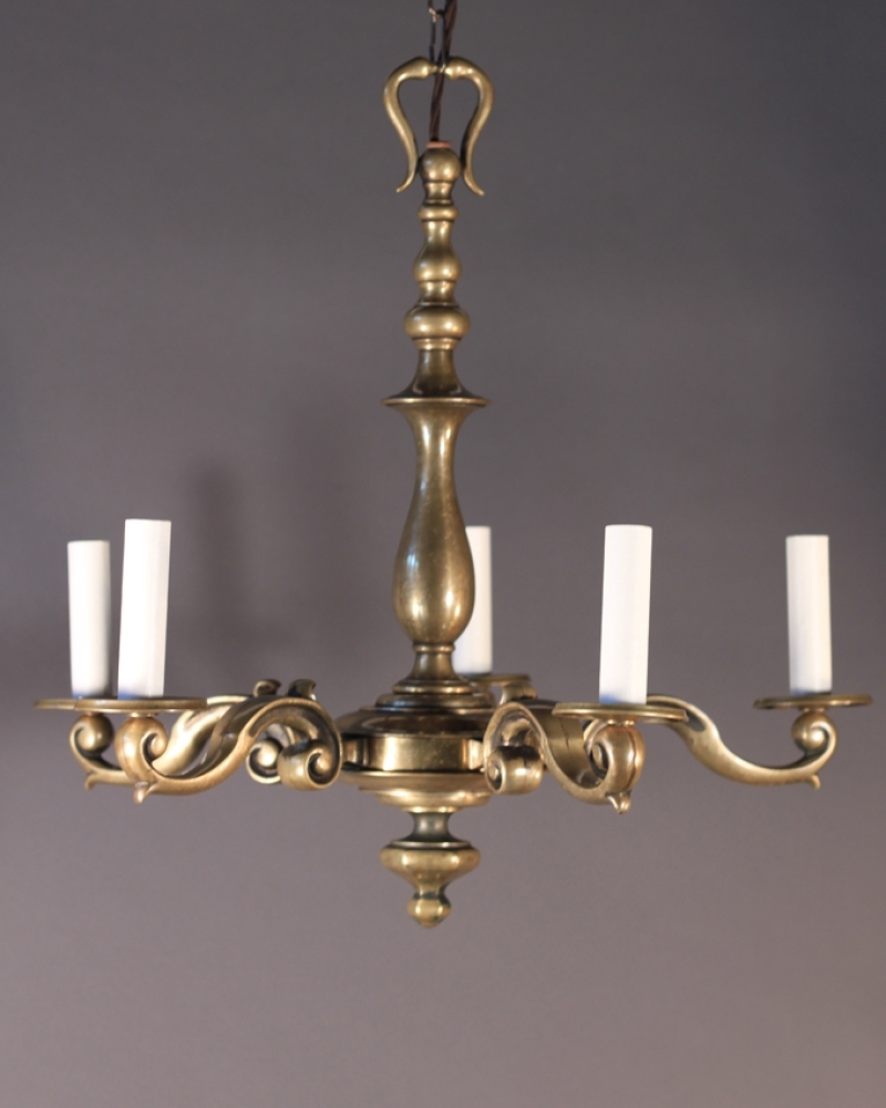 Widely Used Old Brass Chandeliers Intended For Fabulous Antique Brass Chandelier On Fresh Home Interior Design With (View 13 of 20)