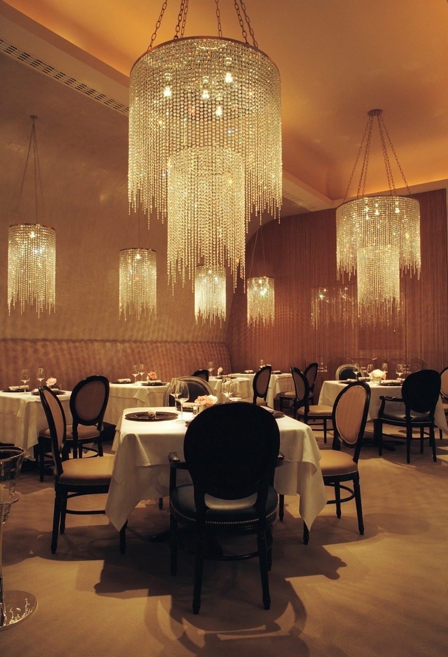 Widely Used Restaurant Chandelier Pertaining To Chandelier Restaurant For Home Decor Arrangement Ideas With (View 2 of 20)