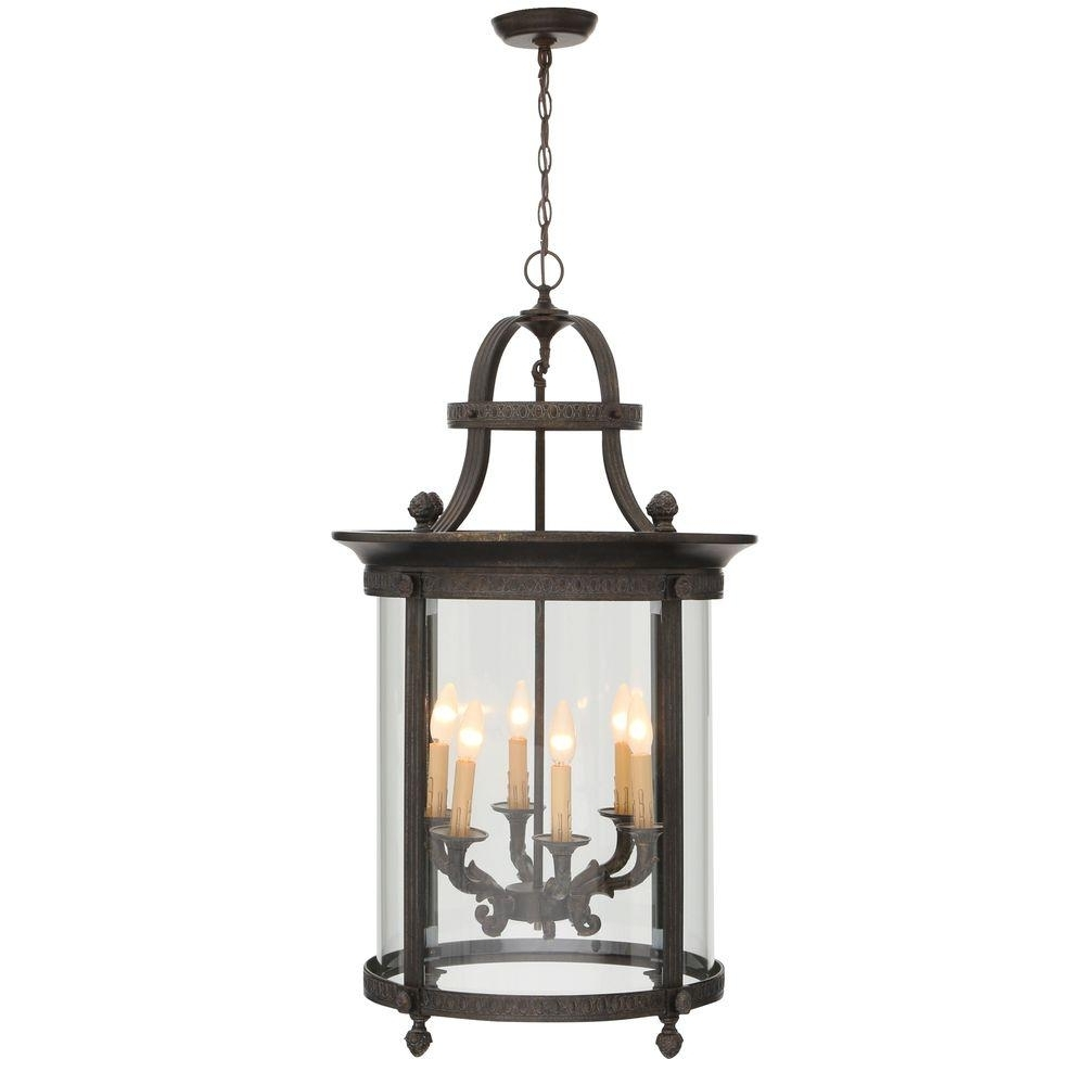 World Imports Chatham Collection 6 Light French Bronze Outdoor In Most Popular French Bronze Chandelier (View 6 of 20)