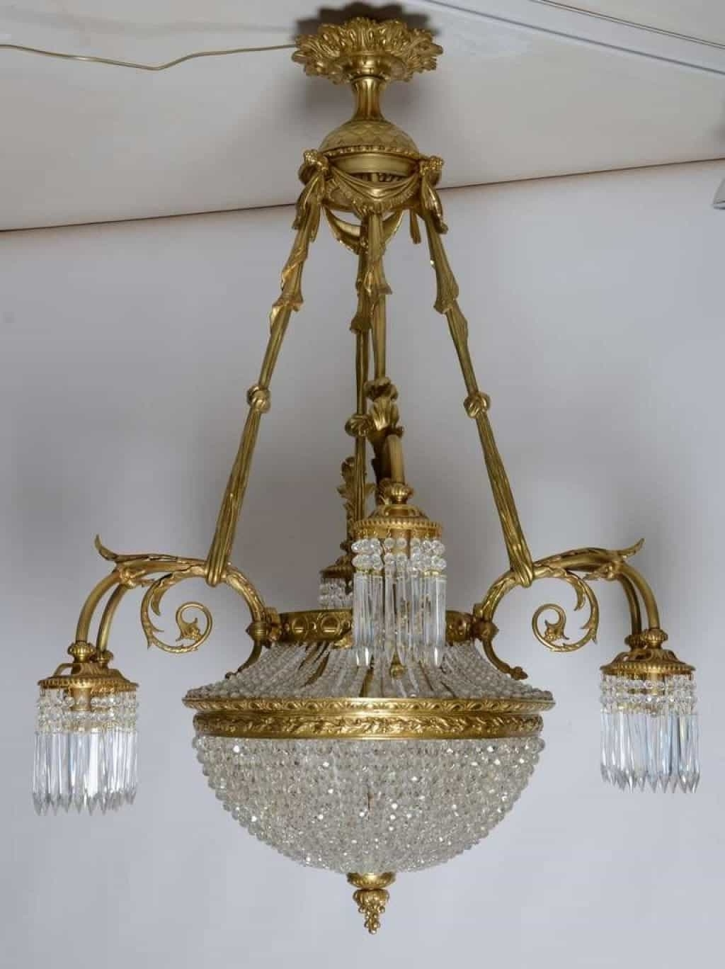 Xtend Pertaining To Well Known Antique French Chandeliers (View 20 of 20)