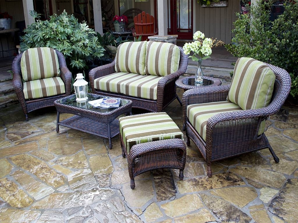 2018 Amazing Wicker Patio Furniture Sets (View 1 of 20)