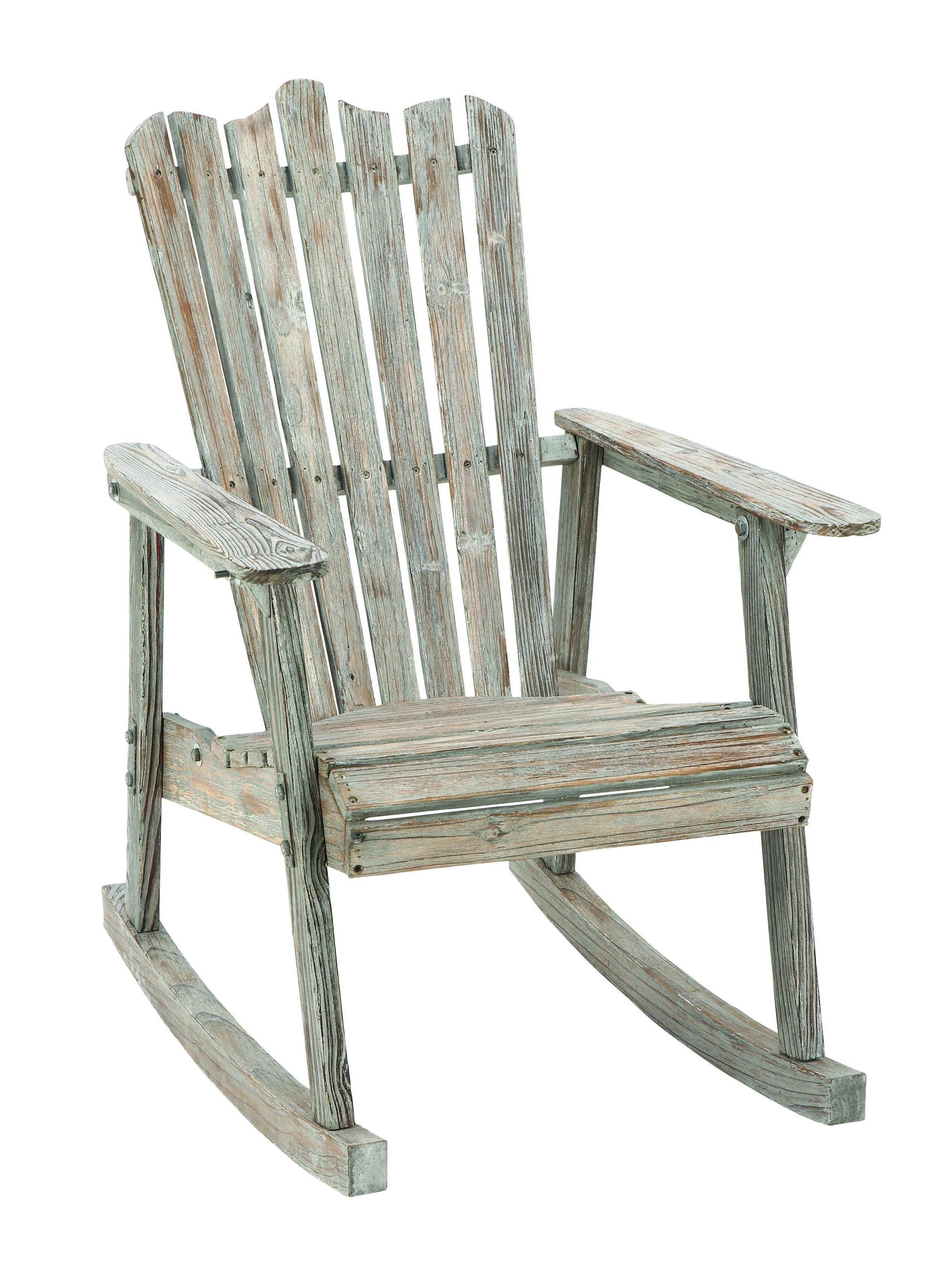 2018 Char Log Patio Rocking Chairs With Star Pertaining To Old Look Old Fashioned Rocking Chair (View 18 of 20)