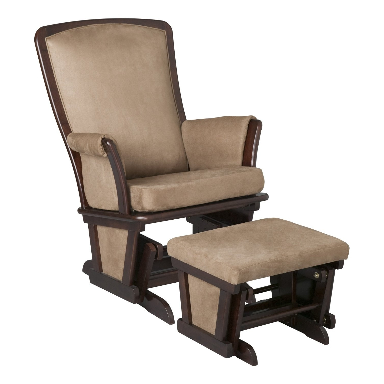 2018 Furniture: Best Rated Nursery Gliders,rocking Chairs Reviews 2015 With Rocking Chairs With Ottoman (View 2 of 20)