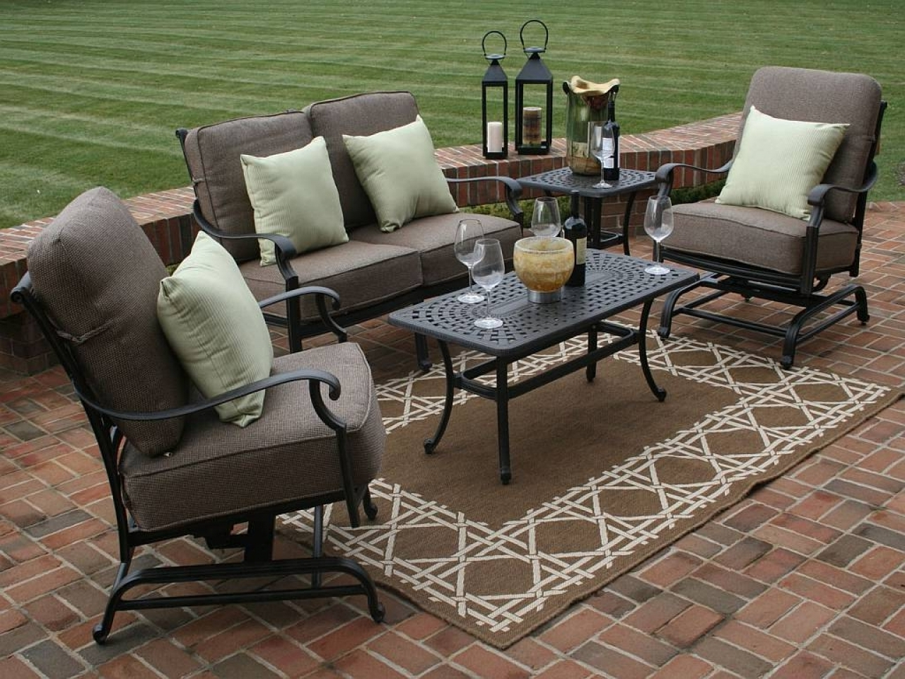 2018 How To Make Patio Furniture Sets — The Home Redesign In Nfm Patio Conversation Sets (View 1 of 20)