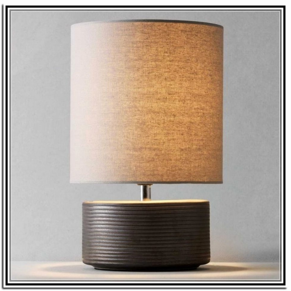 2018 Living Room Table Lamps At Target Inside Lighting : Battery Operated Table Lamp Powered Lamps Target For (View 19 of 20)