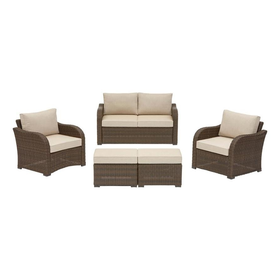 2018 Patio Conversation Sets Under $400 Throughout Shop Patio Furniture Sets At Lowes (View 13 of 20)