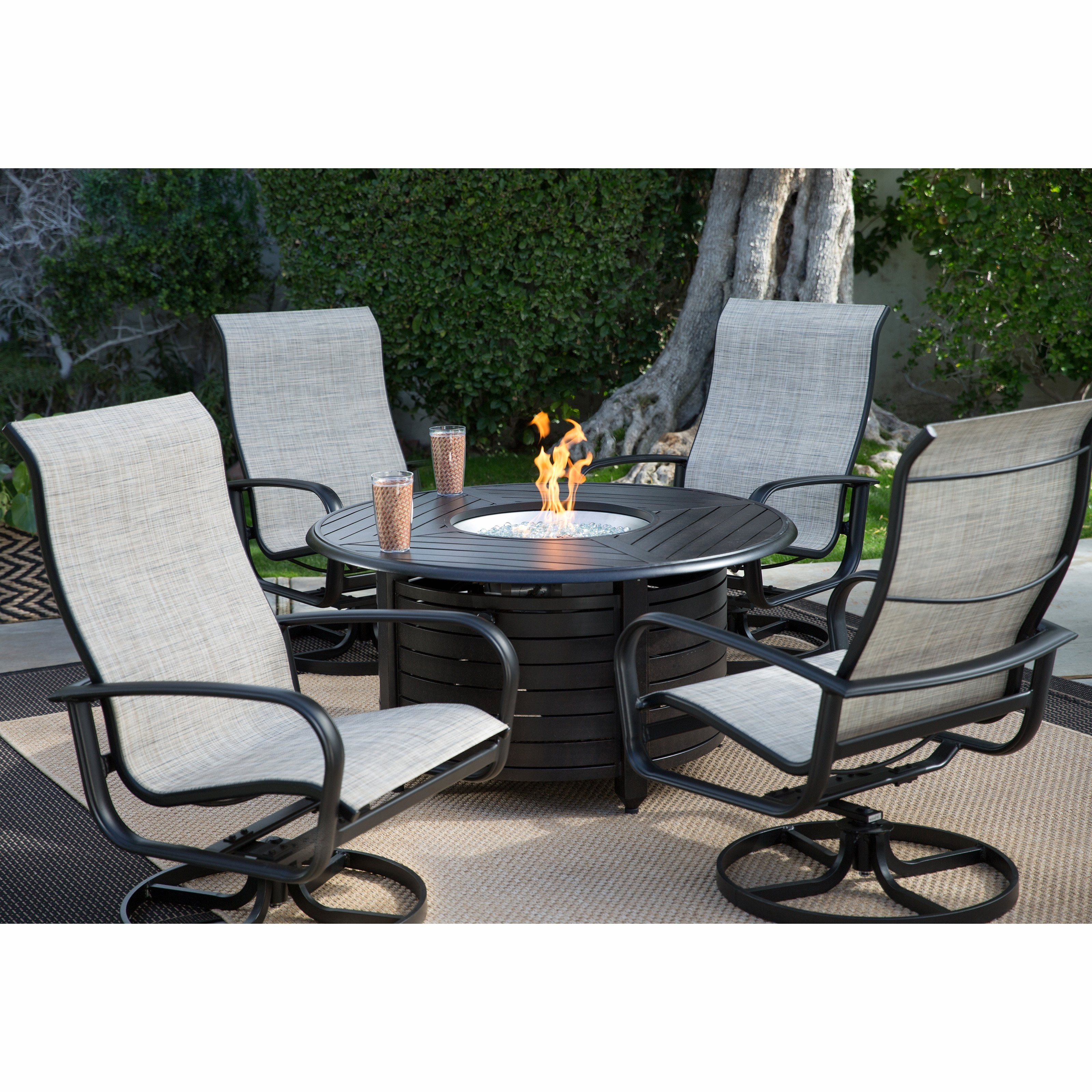 2018 Patio Conversation Sets With Gas Fire Pit In Patio Furniture With Gas Fire Pit Elegant Conversation Sets Outdoor (View 15 of 20)