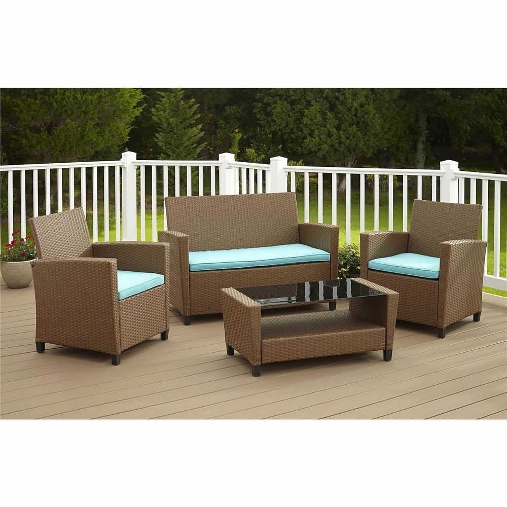 2018 Patio Furniture Sets Clearance Sale Costco Patio Resin Wicker Pertaining To Costco Patio Conversation Sets (View 17 of 20)