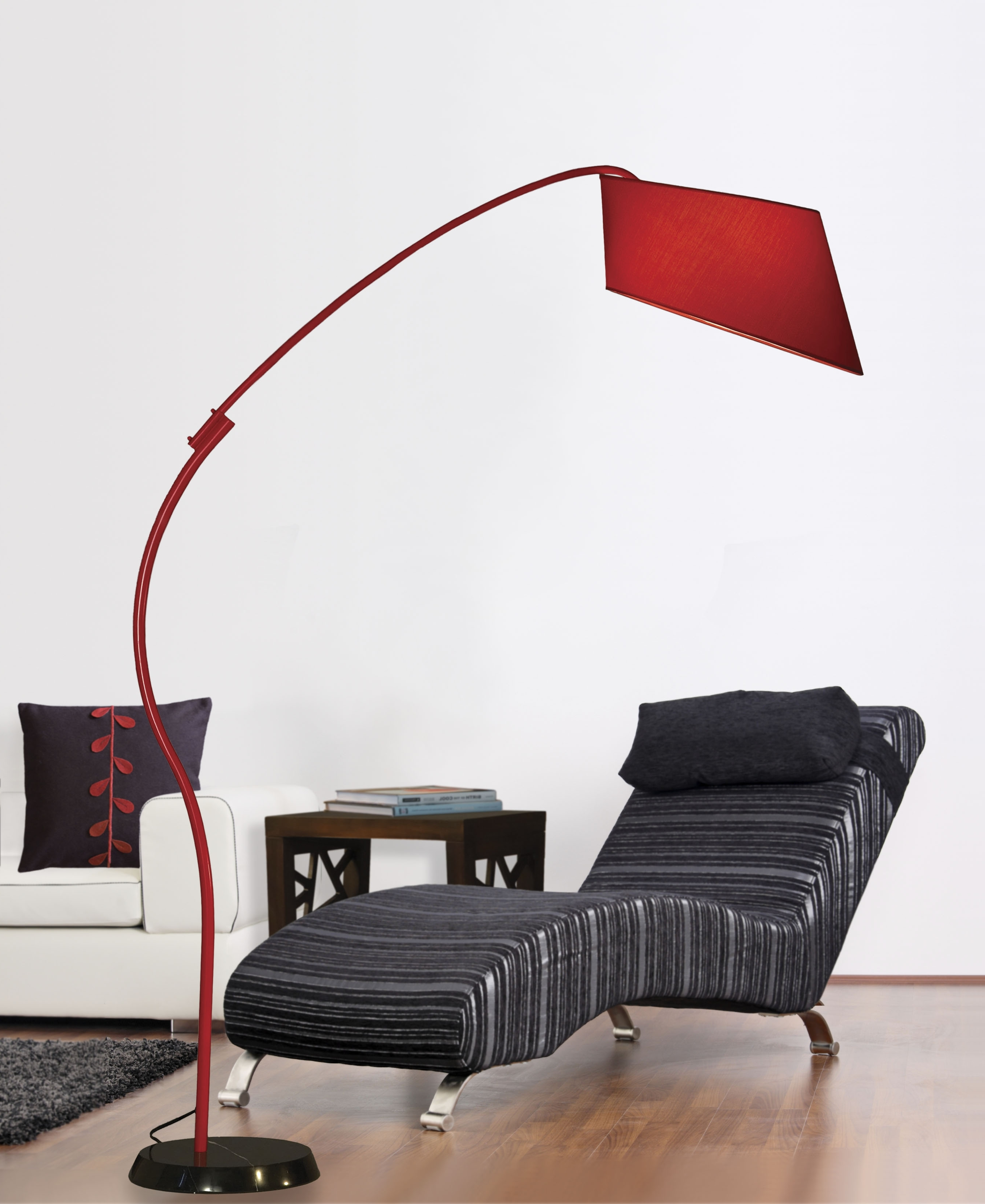 2018 Red Living Room Table Lamps For Pleasant Red Arc Floor Lamp Set For Bathroom Accessories Charming (View 10 of 20)