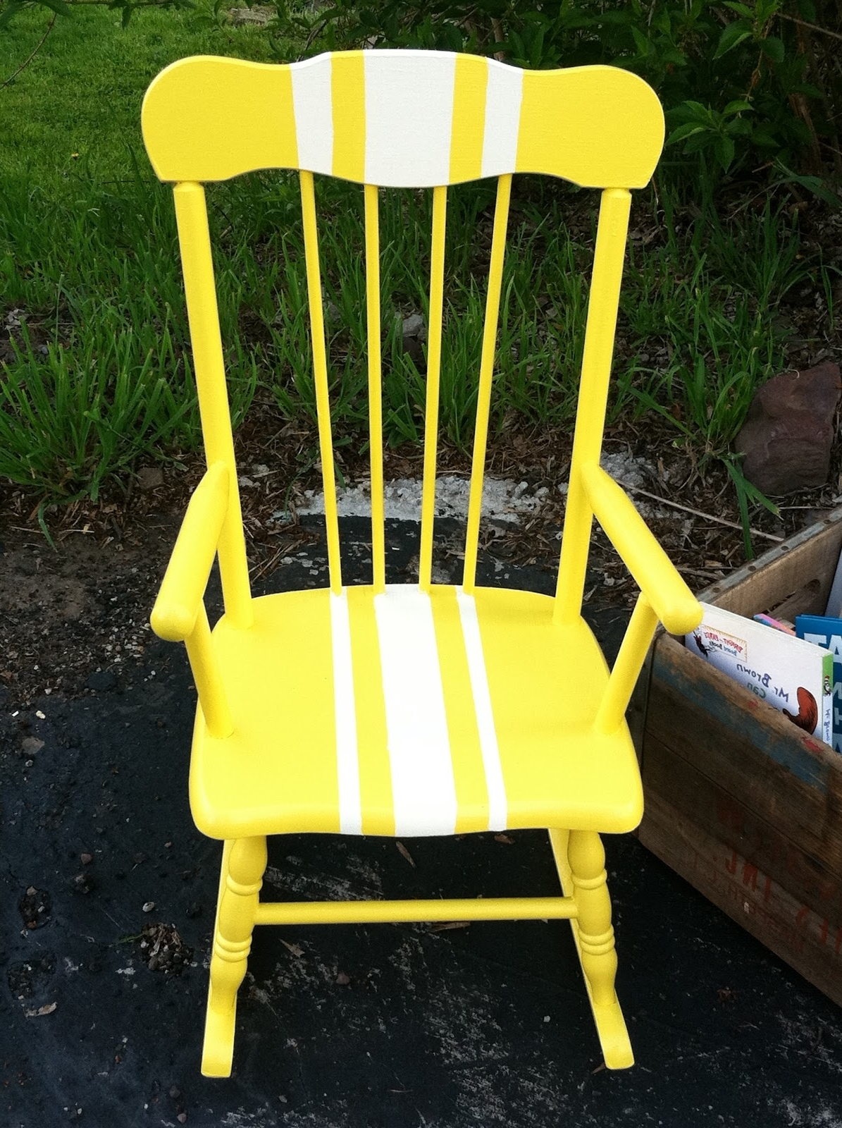 2018 Rocking Chairs Adelaide Intended For Sweet Rocking Chair Redo: Meet Adorable Adelaide (View 1 of 20)