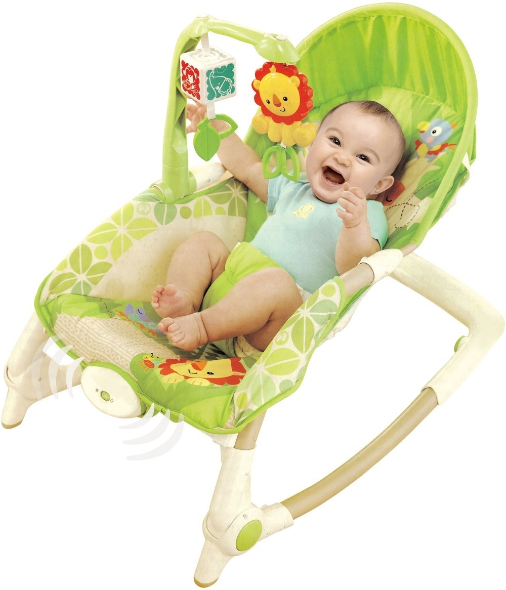 2018 Rocking Chairs For Babies Throughout Free Shipping Newborn To Toddler Rocker Musical Baby Rocking Chair (View 1 of 20)
