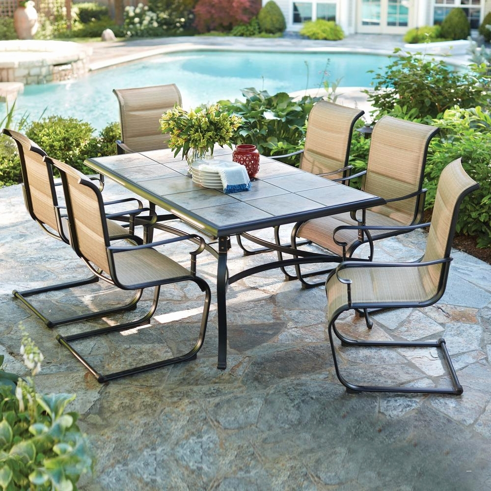 2019 Cute Dining Table Clearance Sale 3 Graceful Patio Furniture 17 With Amazon Patio Furniture Conversation Sets (View 11 of 20)