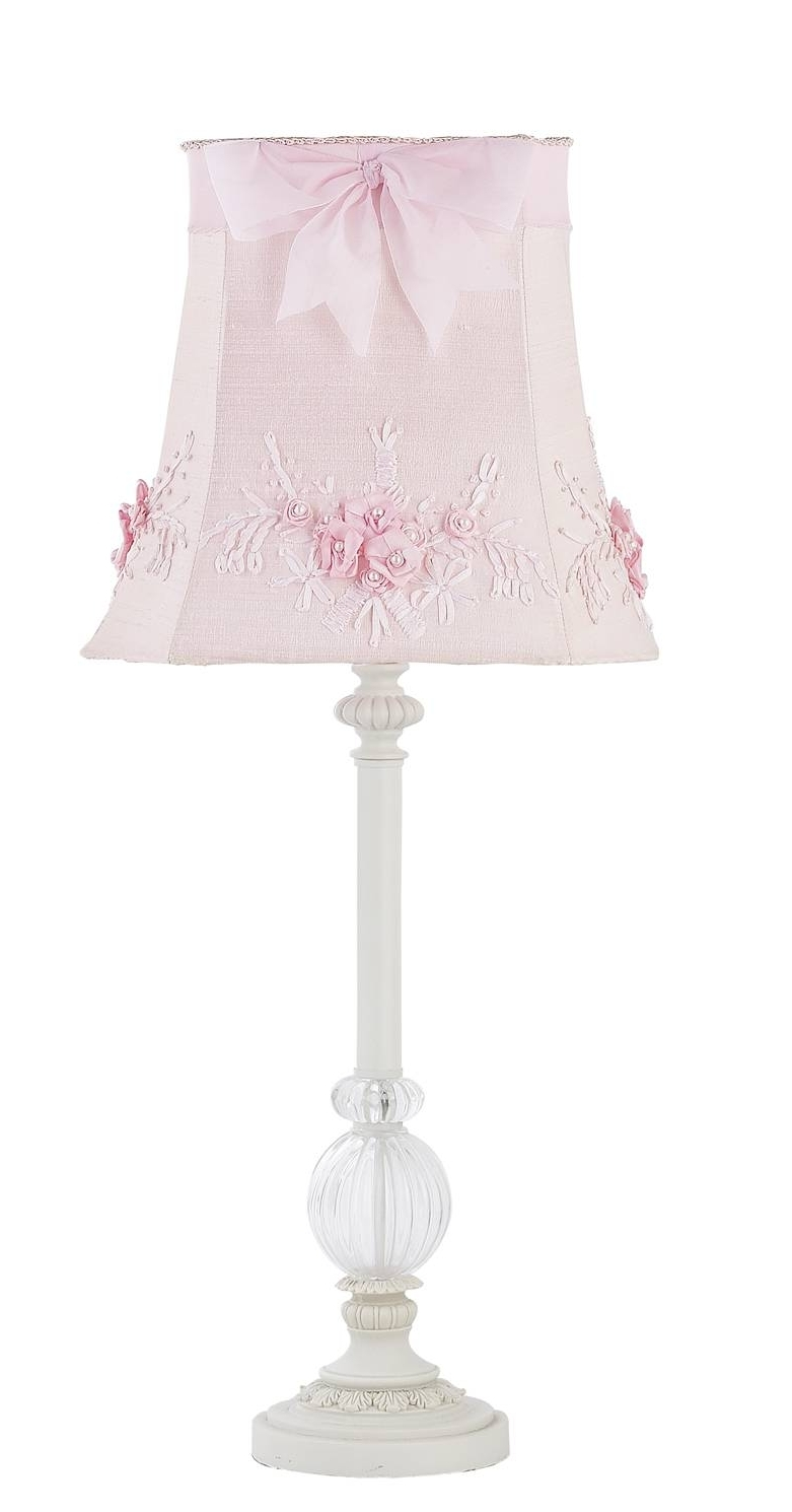 2019 Pink Table Lamps For Living Room Regarding Luxury Ideas White Table Lamps Bedroom Kids Girls Lamp Glass Pink (View 20 of 20)