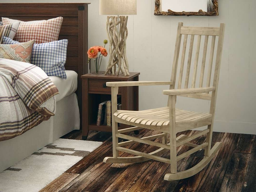 2019 Rocking Chairs At Wayfair Intended For Wayfair Rocking Chair Awesome Loon Peak Standish Rocking Chair (View 2 of 20)