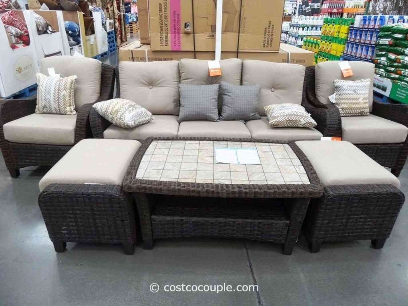 2019 Unusual Costco Patio Furniture Clearance Cool Conversation Sets With Pertaining To Costco Patio Conversation Sets (View 10 of 20)