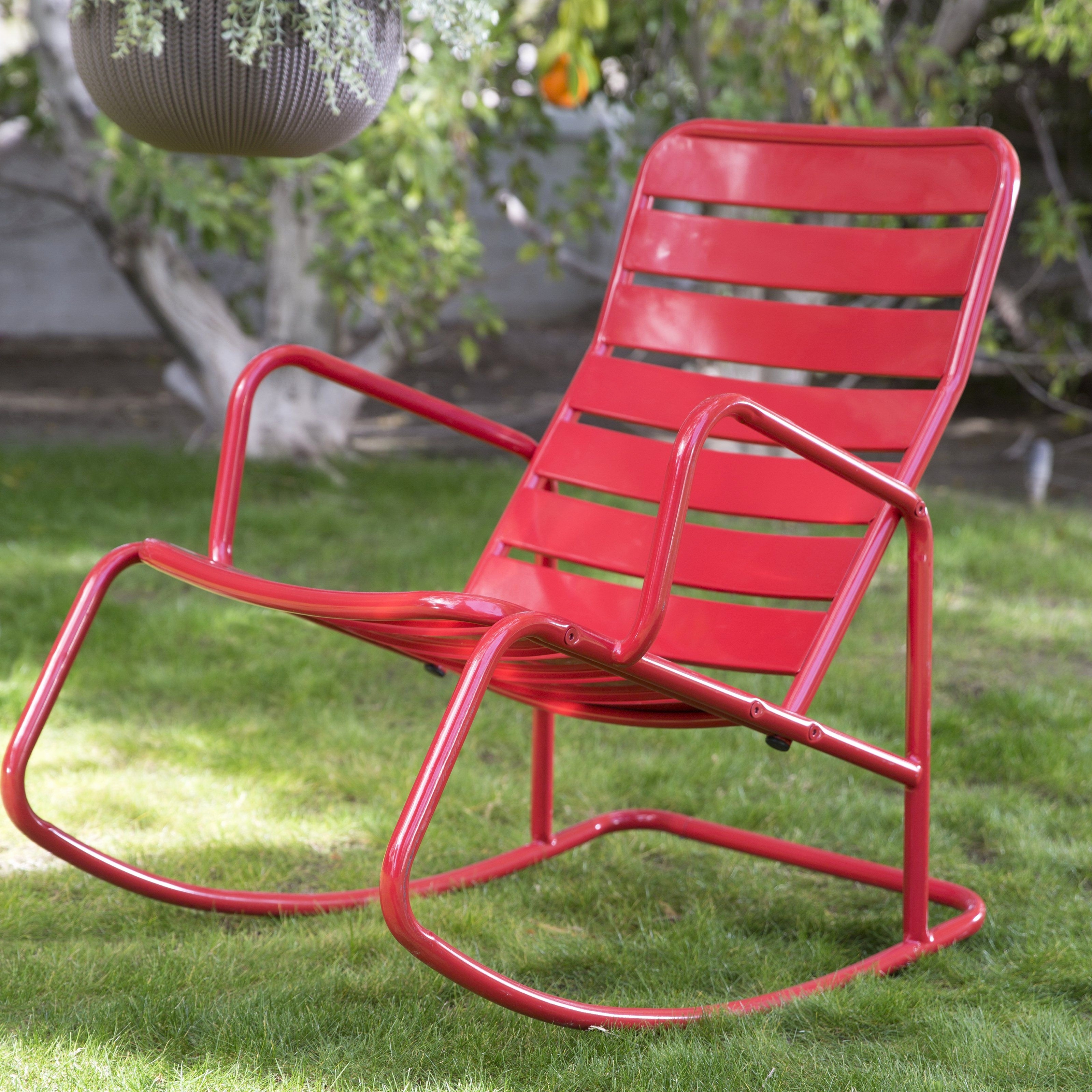 30 The Best Modern Outdoor Rocking Chair Ideas (Gallery 7 of 20)