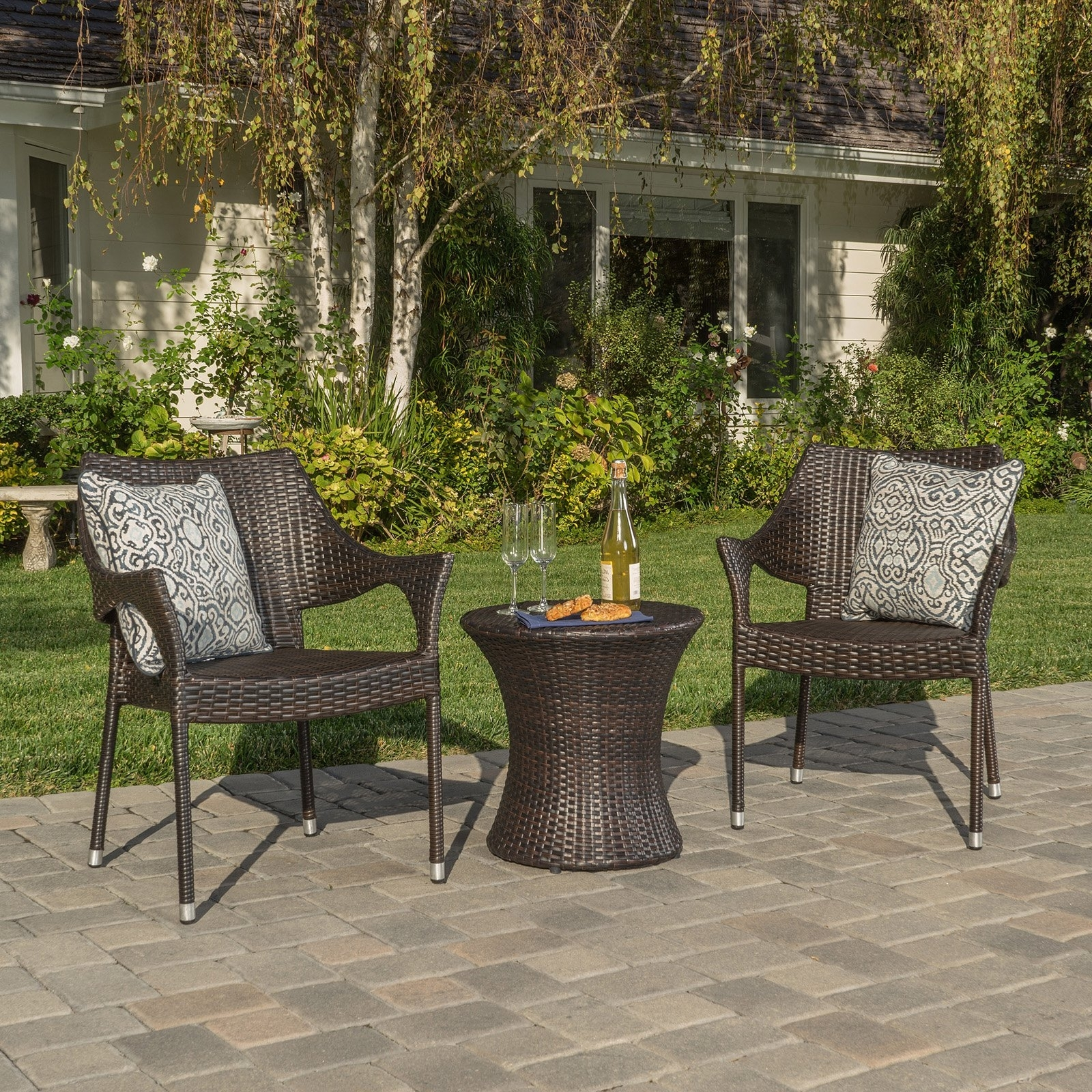 46 Patio Conversation Sets Under 300, Patio Conversation Set 4 Piece Pertaining To 2019 Patio Conversation Sets Under $ (View 6 of 20)