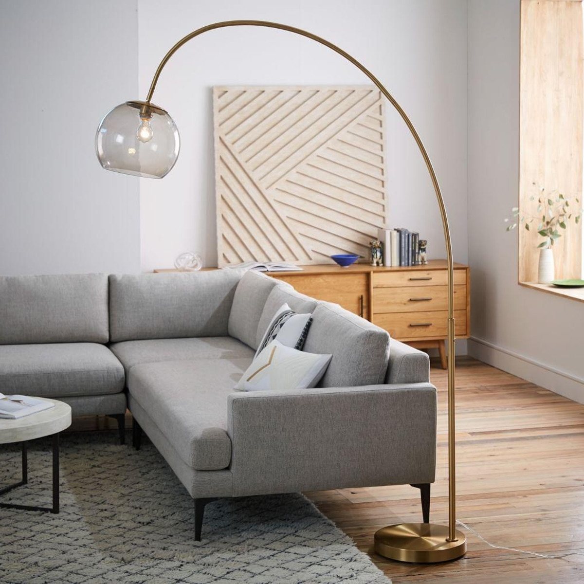 Acrylic Living Room Floor Lamps — S3cparis Lamps Design : Fabulous For Recent Small Living Room Table Lamps (View 11 of 20)