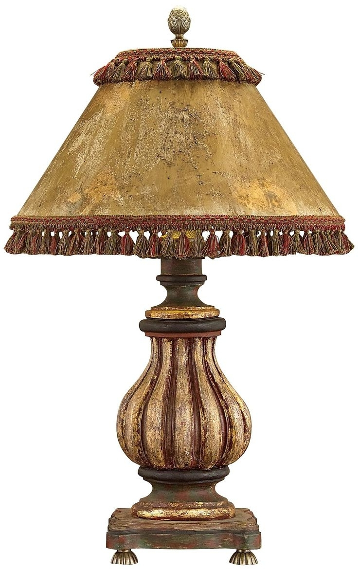 Alluring Traditional Table Lamps For Living Room 14 Lamp Shades Regarding 2019 Tuscan Table Lamps For Living Room (Gallery 9 of 20)