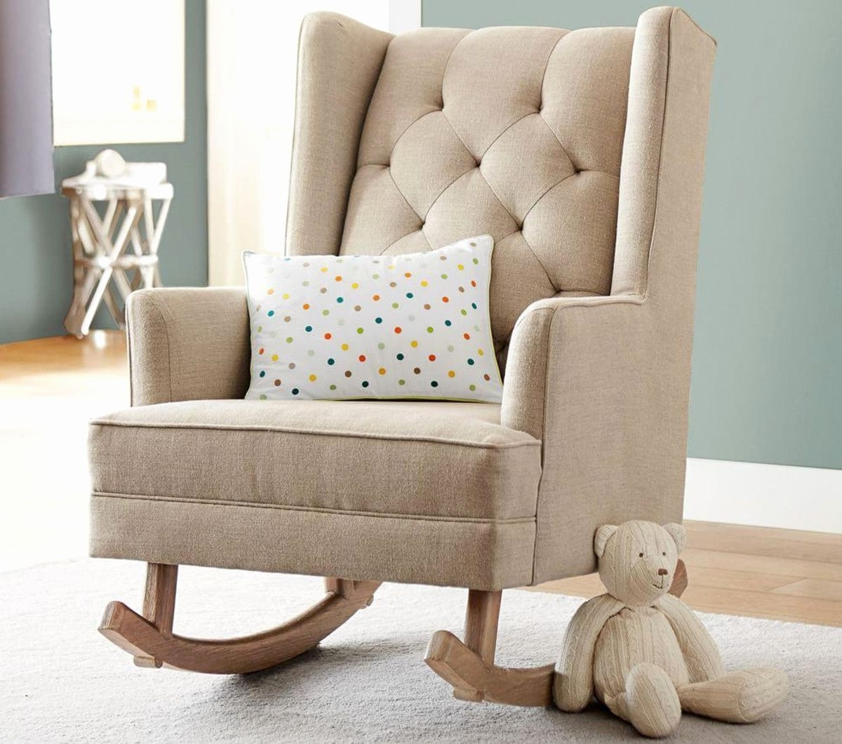Amazing Modern Rocking Chair Nursery Wooden Ture For And Style Sxs With Current Rocking Chairs Adelaide (View 2 of 20)