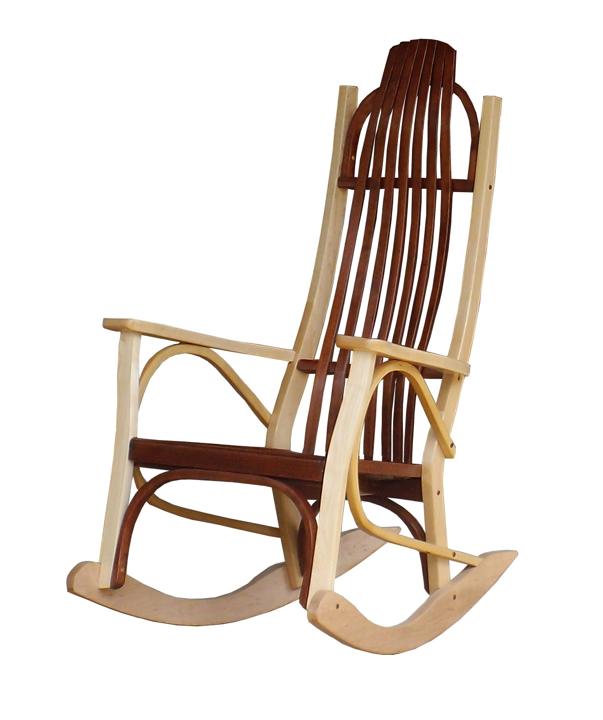 Amazon Rocking Chairs Regarding Favorite Contemporary Rocking Chair Popular Cherry And Maple Wood In  (View 3 of 20)