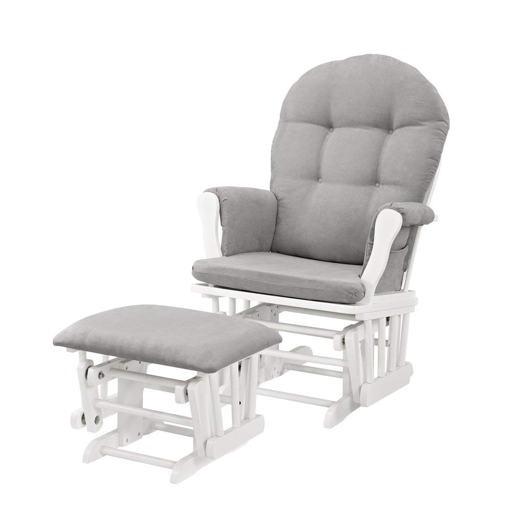 Amazon Rocking Chairs With Regard To Recent Grey Nursery Chair And Ottoman (View 5 of 20)