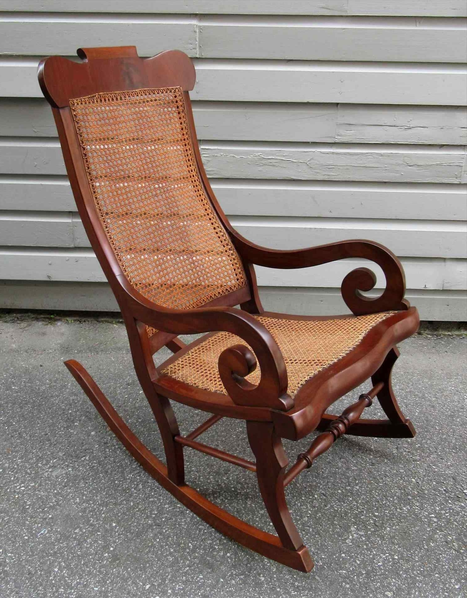 Antique Cane Rocking Chair For Sale – Image Antique And Candle Intended For Most Recent Antique Wicker Rocking Chairs (Gallery 8 of 20)