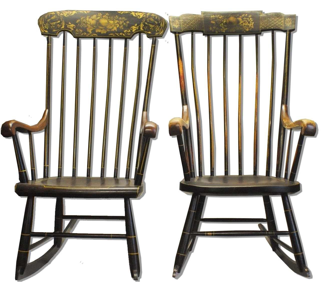 Antique Rocking Chairs Intended For Newest Lincoln's Rocking Chairs Sell For $26K – Antique Trader (View 7 of 20)