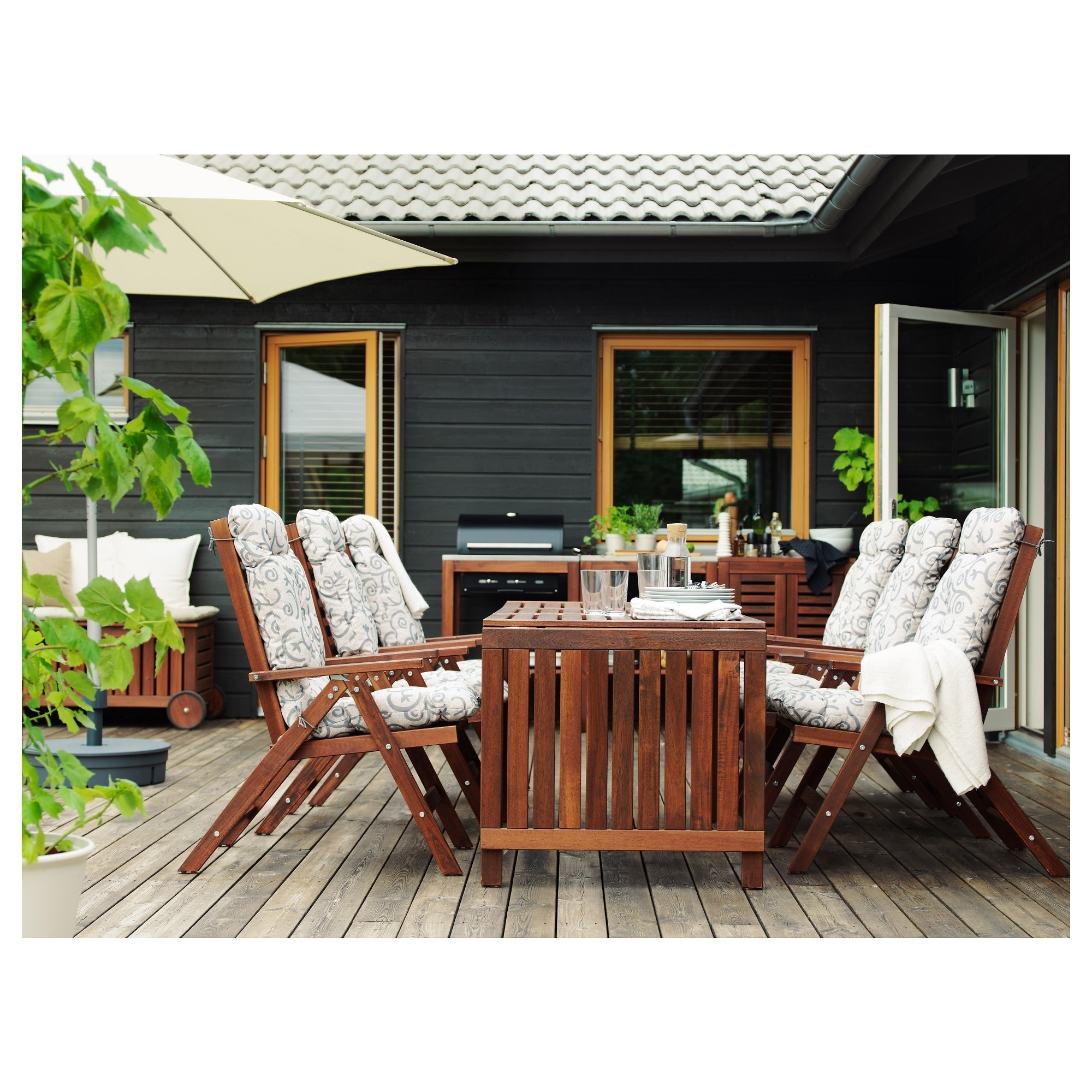 Äpplarö Drop Leaf Table, Outdoor – Ikea Regarding Most Popular Ikea Patio Conversation Sets (View 11 of 20)