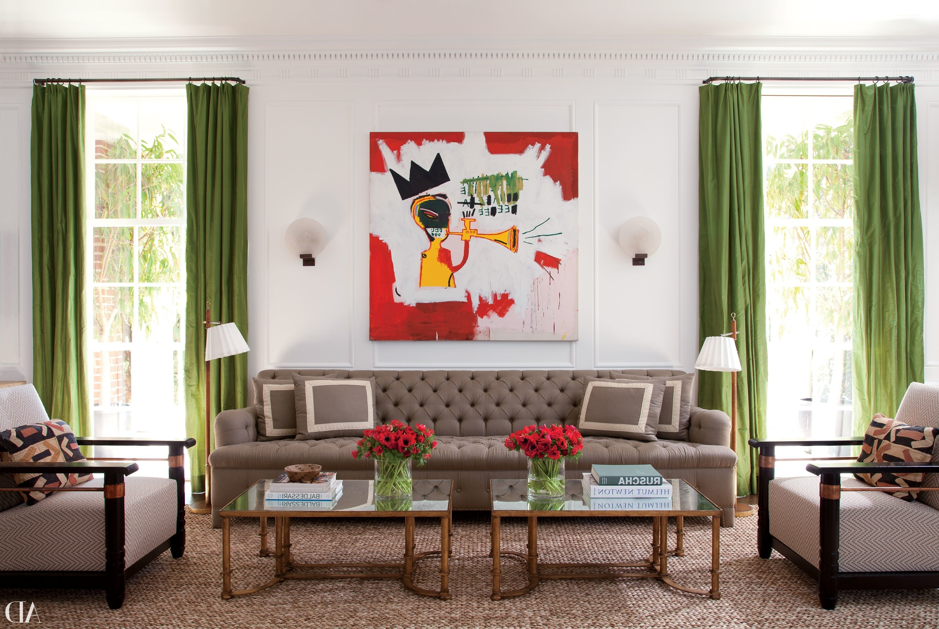 Architectural Digest In Favorite Living Room Coffee Table Lamps (View 16 of 20)
