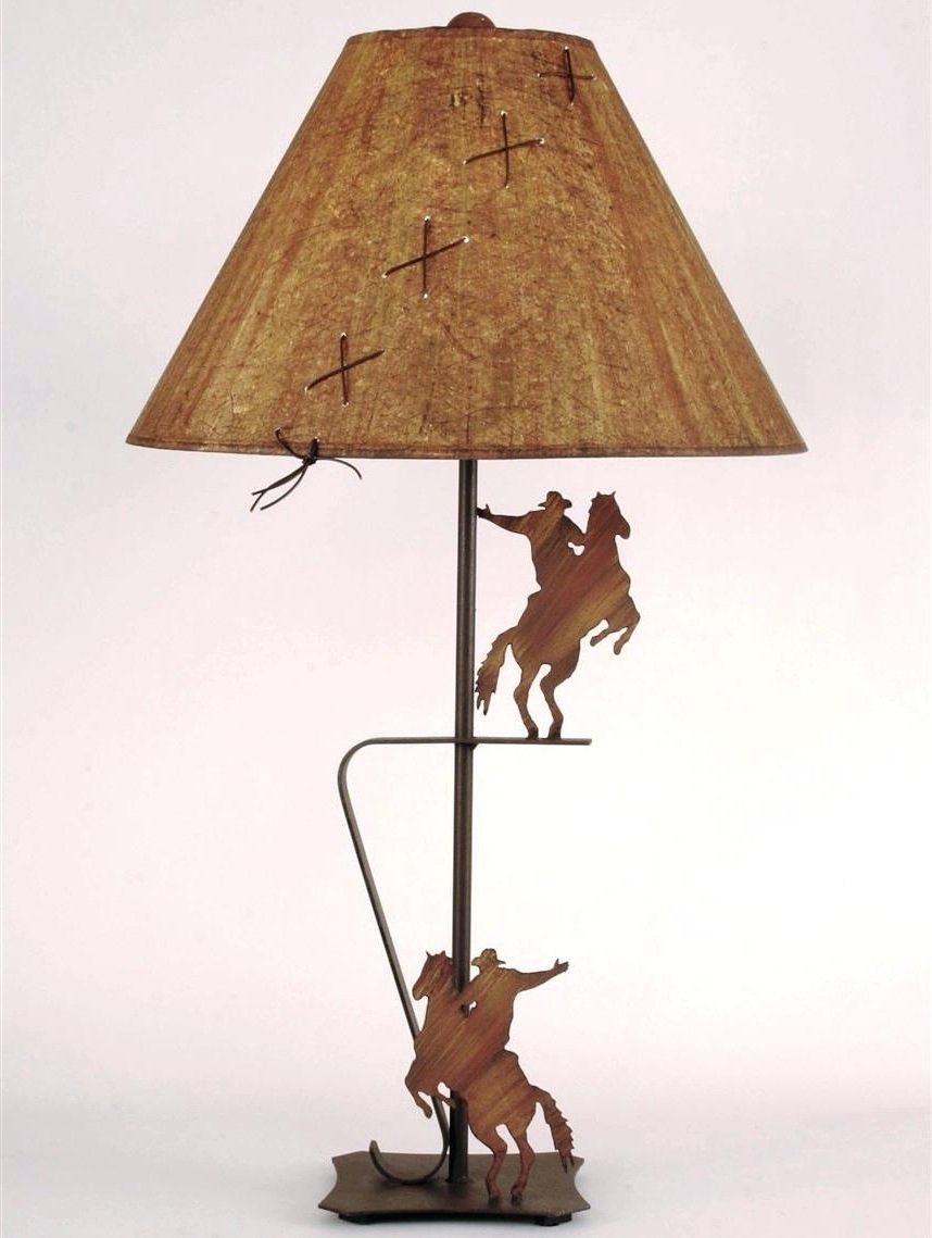 Astonishing Western Table Lamps Light Database Ideas Pic Of Style In Most Popular Western Table Lamps For Living Room (View 7 of 20)