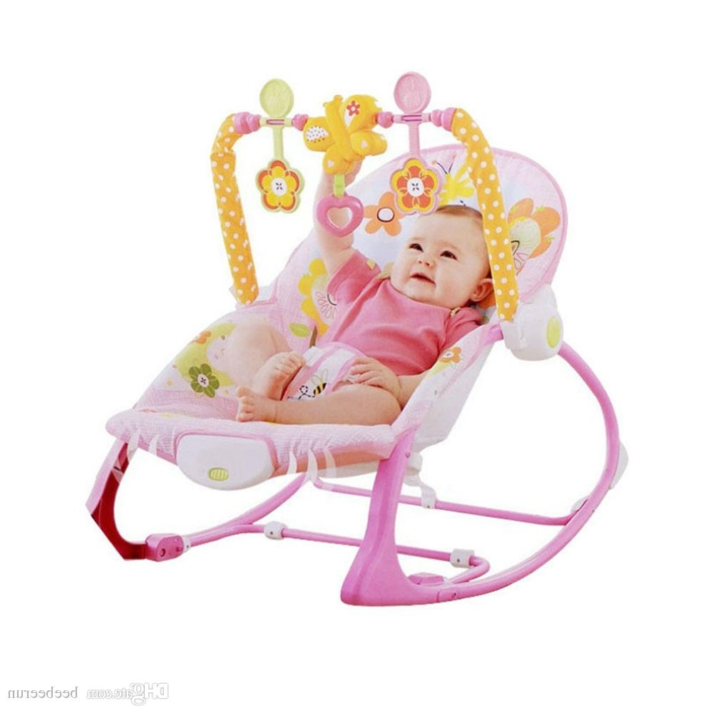 Baby Multi Function Electric Rocking Chair Child Massage Chair Within 2018 Rocking Chairs For Babies (View 2 of 20)