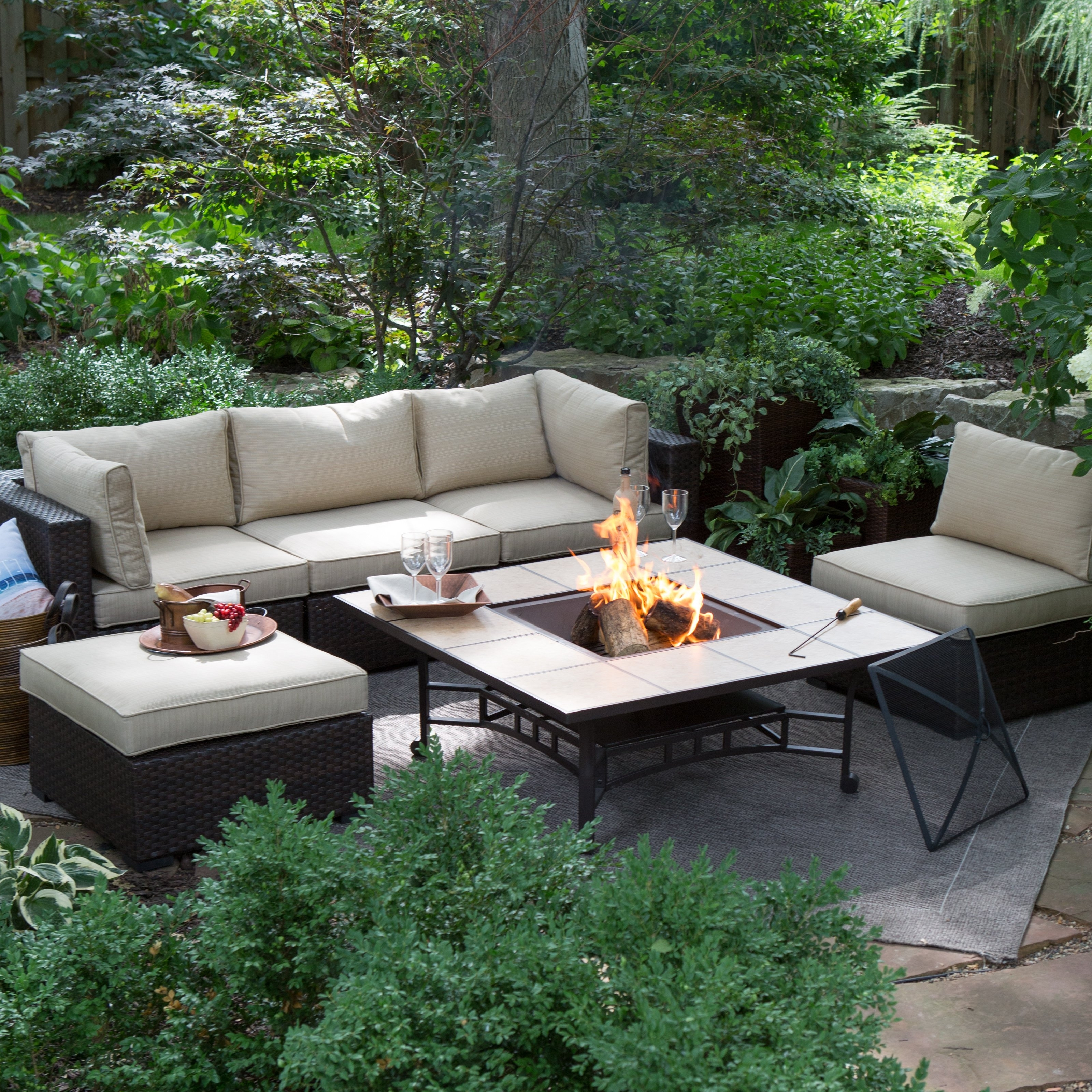 Belham Living Marcella All Weather Wicker 50 In (View 4 of 20)