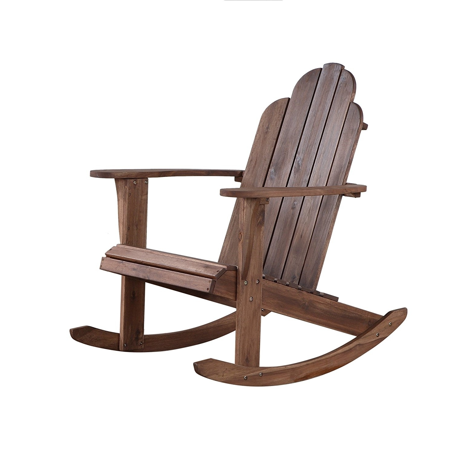 Best And Newest Amazon Com Linon Woodstock Rocking Chair Teak Kitchen Diningndack Inside Amazon Rocking Chairs (View 6 of 20)