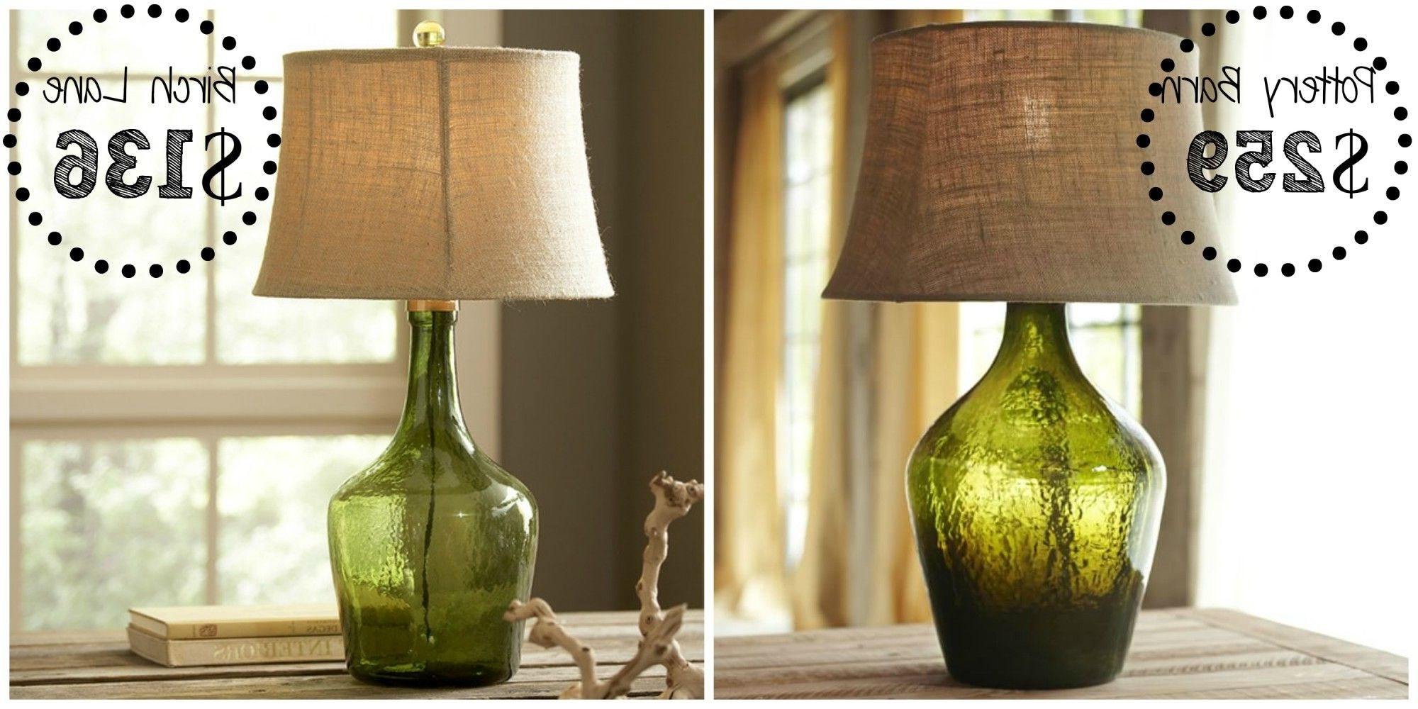 Best And Newest Pottery Barn Table Lamps For Living Room Regarding Decor Look Alikes (View 18 of 20)
