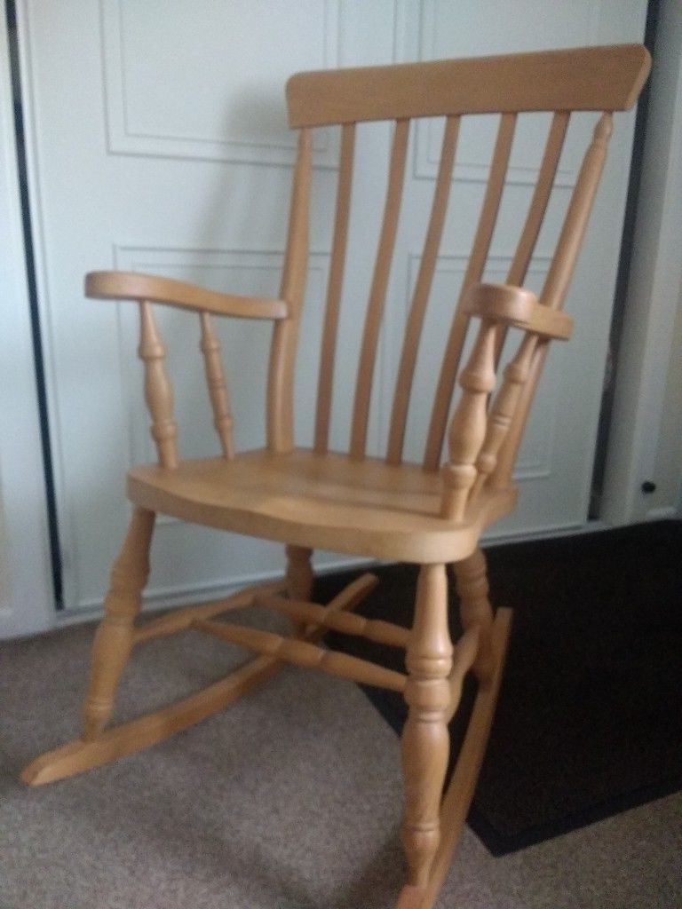 Best And Newest Rocking Chairs At Gumtree With Regard To Pine Rocking Chair (View 3 of 20)
