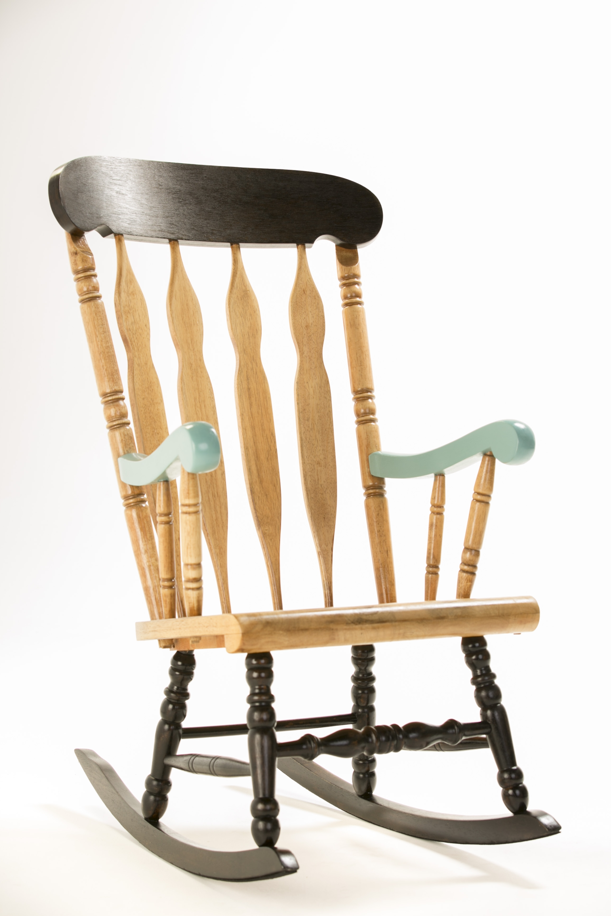 Best And Newest Upcycled Rocking Chairs Intended For How To: Upcycle A Timber Rocking Chair – The Interiors Addict (Gallery 9 of 20)