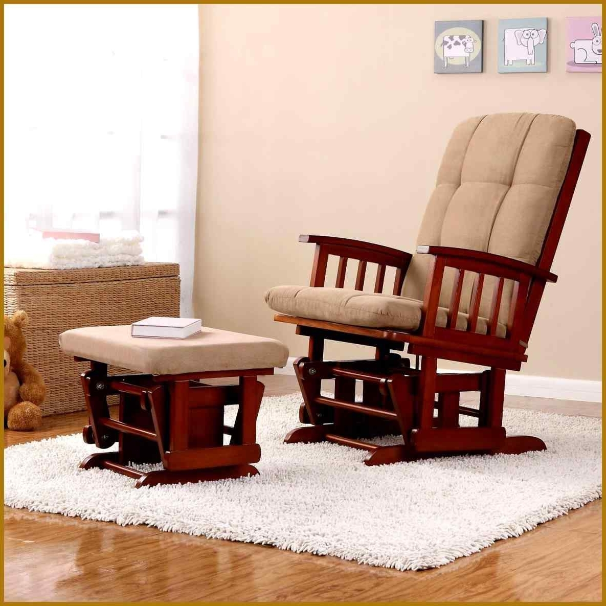 Best And Newest Wicker Rocking Chairs And Ottoman Inside The Images Collection Of Cushion Coral Coast Mocha Resin Wicker (View 2 of 20)