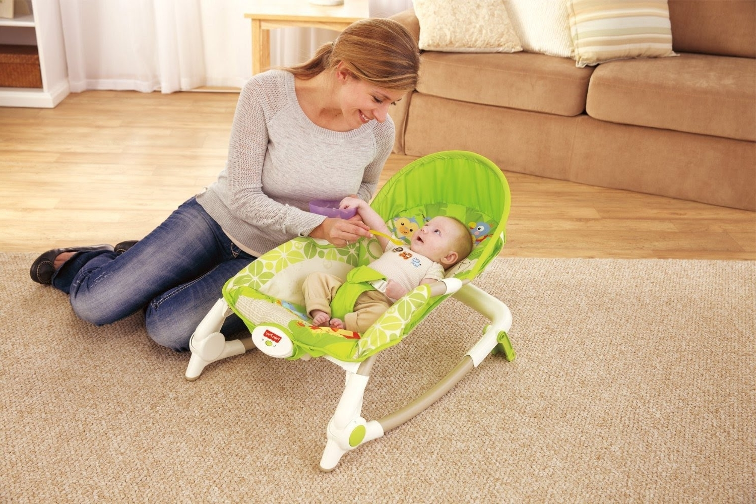 Best Baby Rockers Inside Newest Rocking Chairs For Babies (View 6 of 20)
