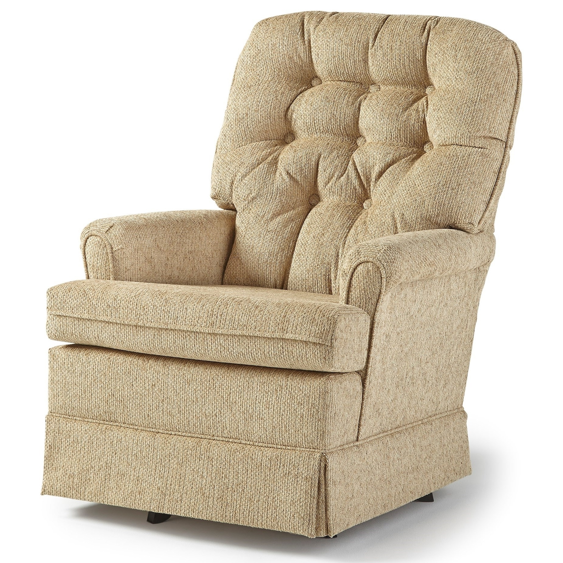 Best Home Furnishings Swivel Glide Chairs Joplin Swivel Rocker Chair Inside 2018 Swivel Rocking Chairs (View 3 of 20)