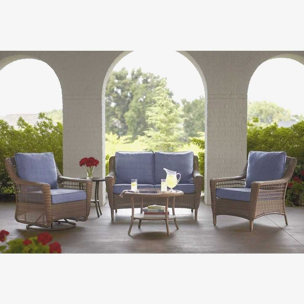 Blue Patio Conversation Sets With Regard To Famous Small Patio Furniture Sets New Blue Patio Conversation Sets Outdoor (View 8 of 20)