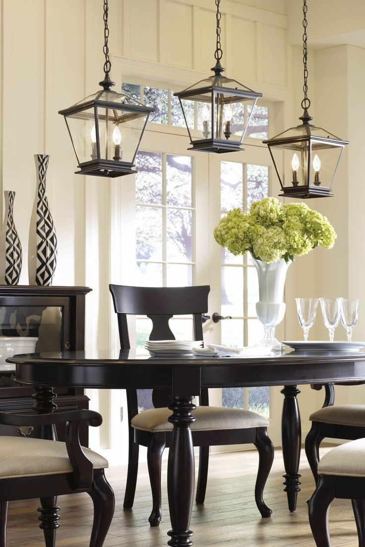 Captivating Elegant Dining Room Lighting  (View 3 of 20)