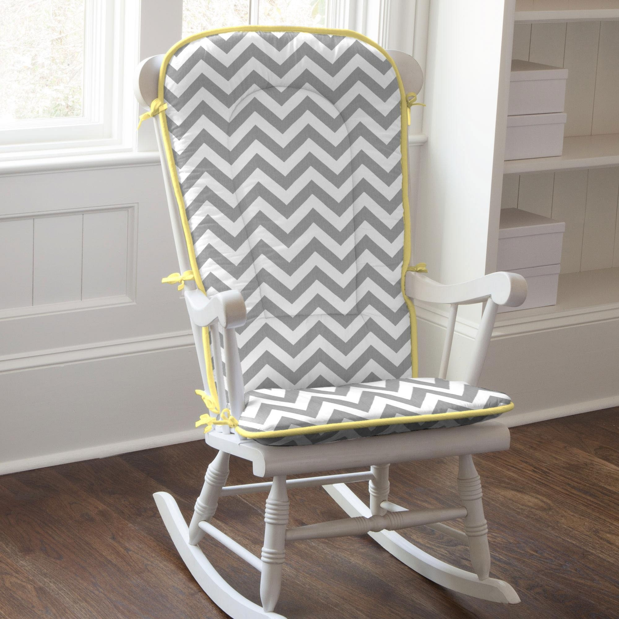 Carousel Designs For Yellow Outdoor Rocking Chairs (View 3 of 20)
