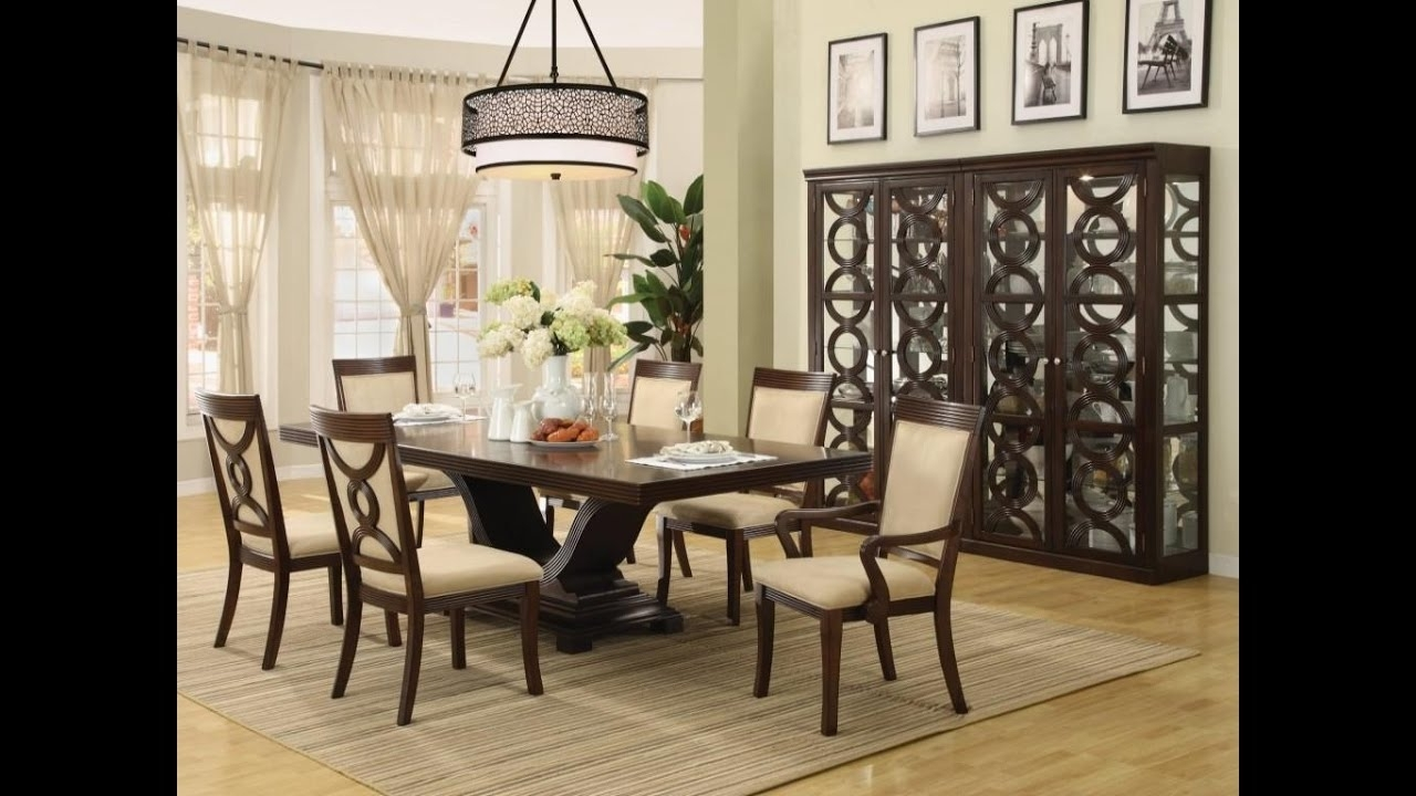 Centerpieces For Dining Room Table – Youtube Throughout Fashionable Formal Living Room Table Lamps (View 2 of 20)