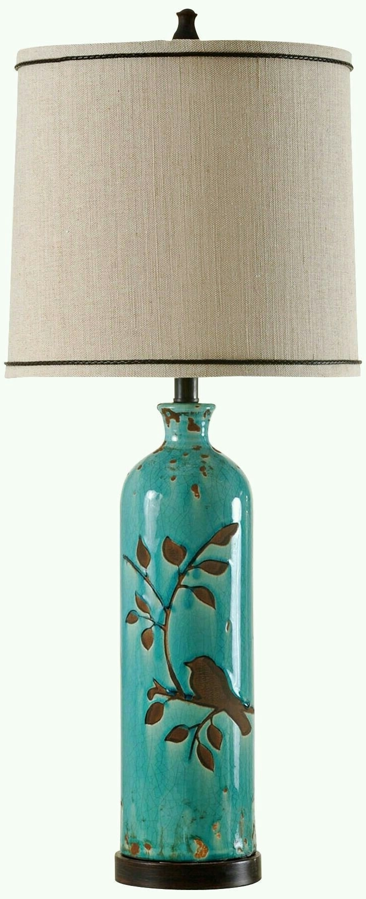 Ceramic Living Room Table Lamps Regarding Widely Used Pinguzin Oz On Iki (View 6 of 20)