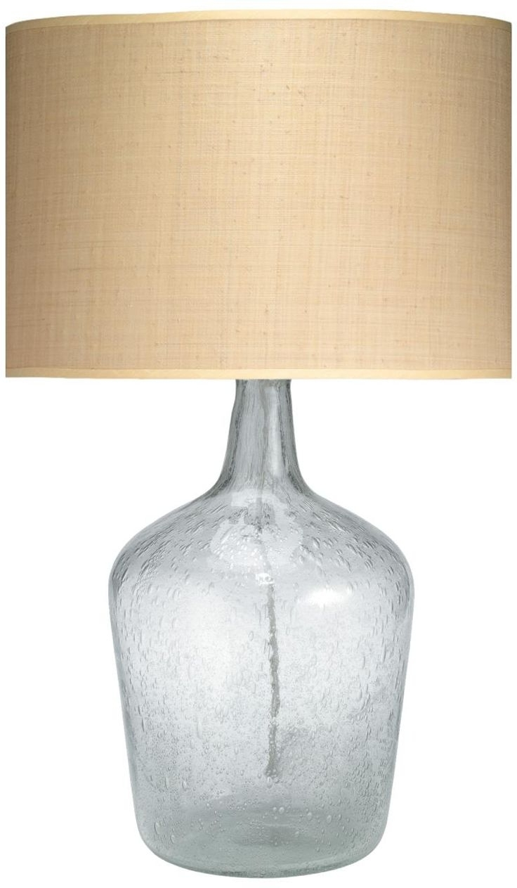 Clear Glass Table Lamps For Living Room » Lamps And Lighting For 2019 Clear Table Lamps For Living Room (View 8 of 20)